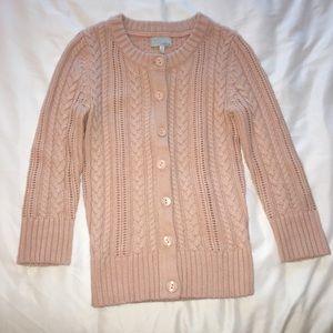 Nordstrom Tildon Light Pink Cardigan Sweater